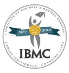 IBMC Career Training College Medical, Business, Legal and Massage Logo