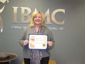 IBMC Fort Collins college honors outstanding faculty member.