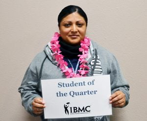 Medical Assisting student at IBMC college in greeley www.ibmc.edu