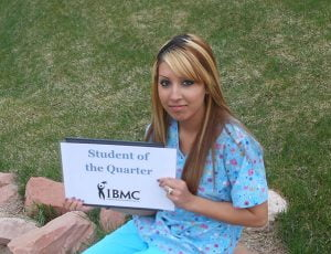 Medical Assisting student at IBMC College in Greeley.