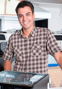 A degree in computer support is your step to an IT career.