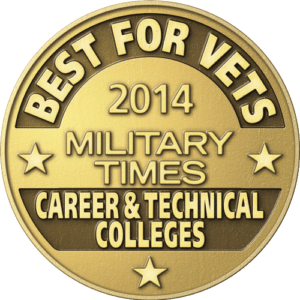 IBMC College named a Best for Vets institution.