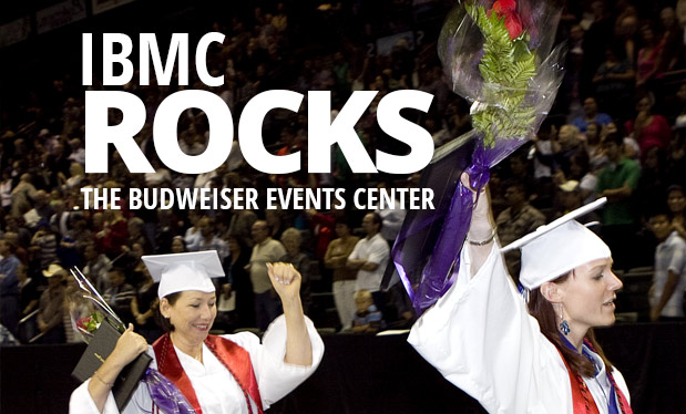 Join us for IBMC College Graduation tonight!