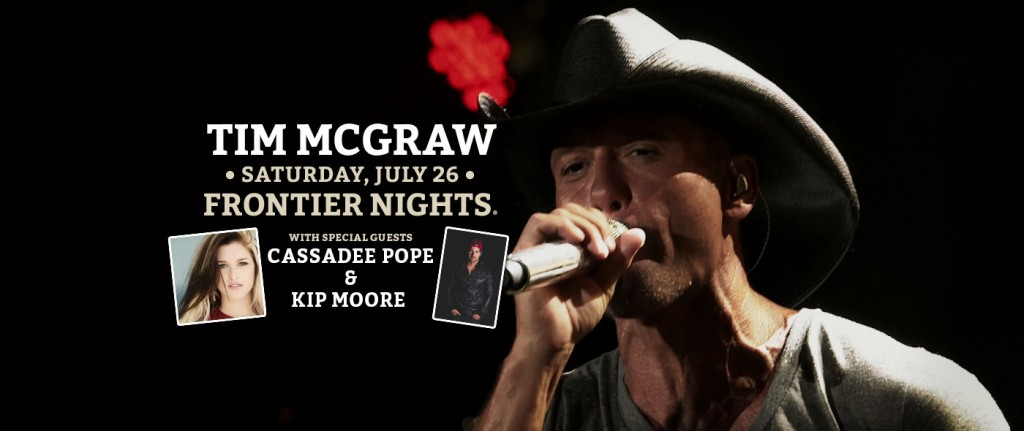 TimMcGraw at Cheyenne Frontier Days