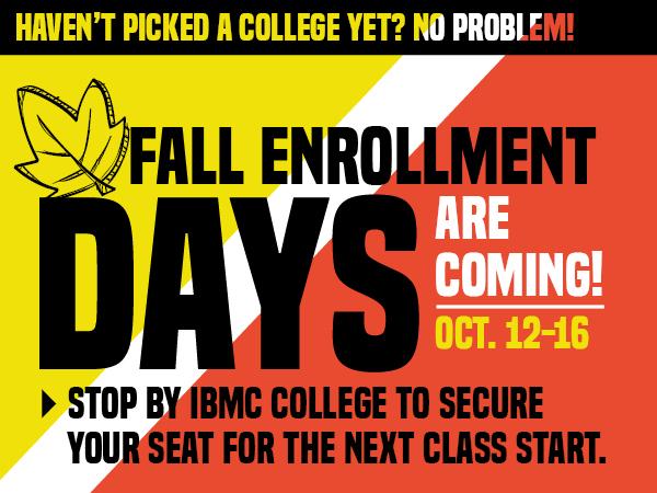 Fall Enrollment Days Facebook graphic 1015