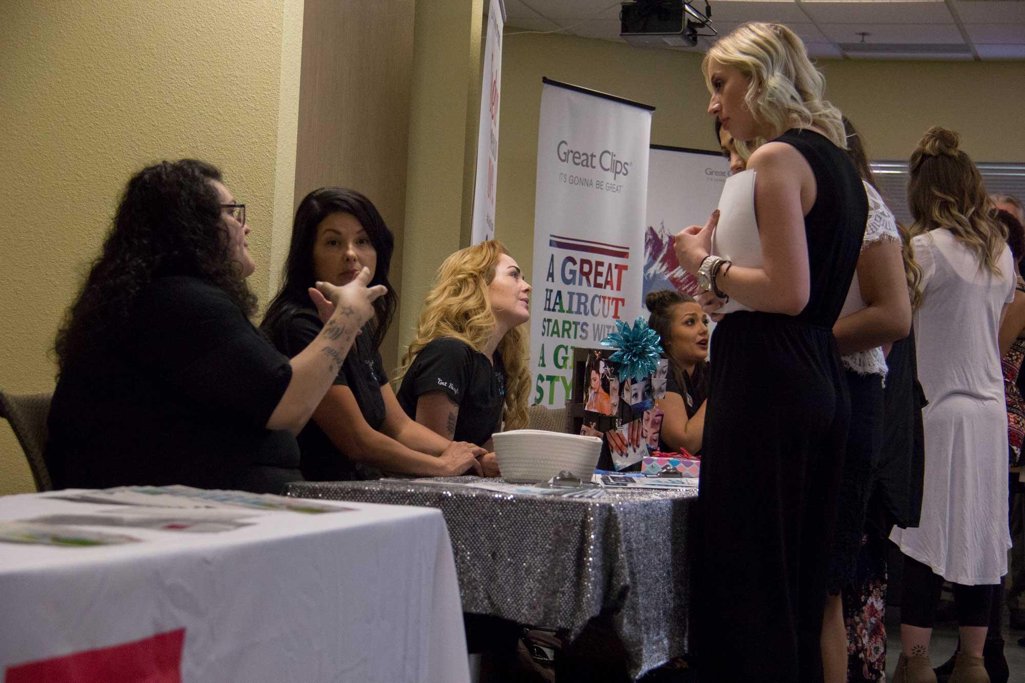 20 Salons Participate in Fort Collins Campus Career Fair